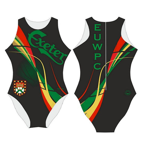 Waterpoloshop - SHOALO Customised - Exeter Uni Womens Water Polo Suits