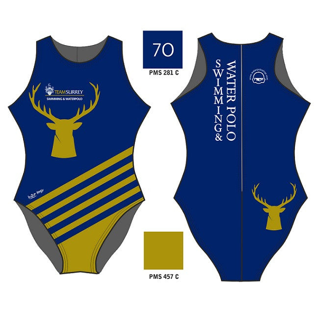 H2OTOGS Customised - Surrey Uni Womens Water Polo Suits