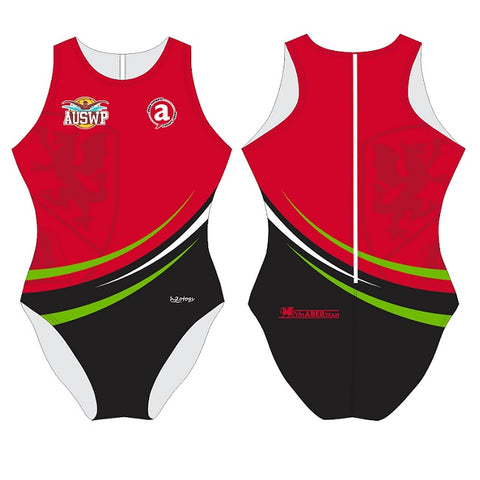 H2OTOGS Customised - Aberystwyth Uni Womens Water Polo Suits