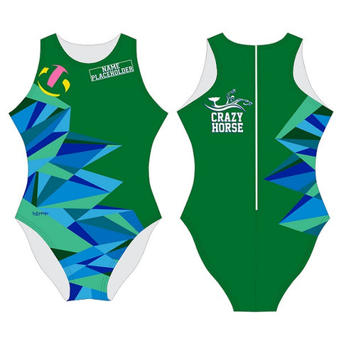 H2OTOGS Customised - Crazy Horse Womens Water Polo Suits
