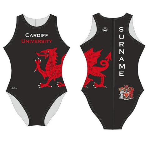 Waterpoloshop - SHOALO Customised - Cardiff Uni Womens Water Polo Suits