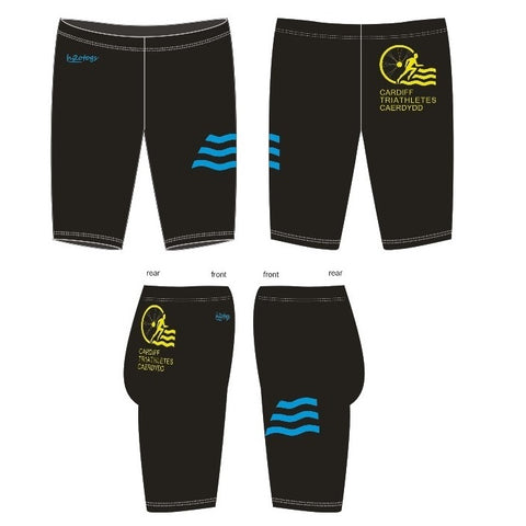 H2OTOGS Customised - Cardiff Triathletes Caerdydd Mens Jammers