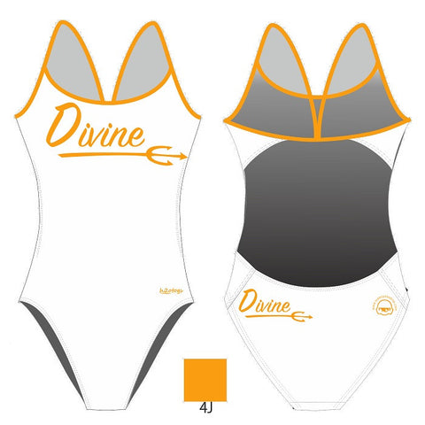 H2OTOGS Customised - Divine Womens Openback Swimsuit