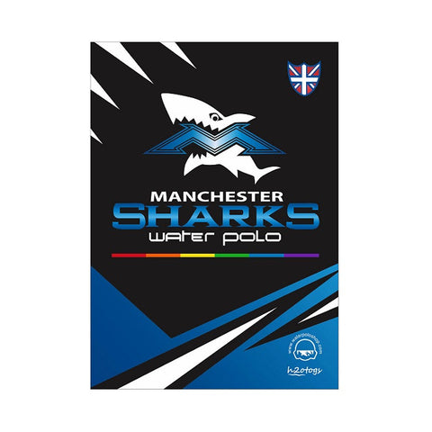 H2OTOGS Customised Manchester Sharks Gym Towel