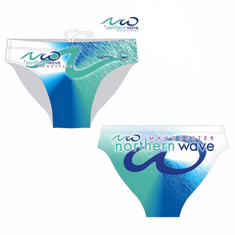 Waterpoloshop - H2OTOGS Customised - Northern Wave Mens Swim Briefs
