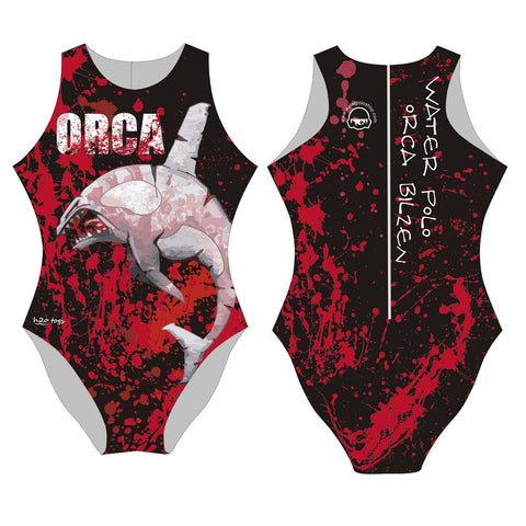 H2OTOGS Customised - Orca Bilzen (VZW) Womens Water Polo Suits