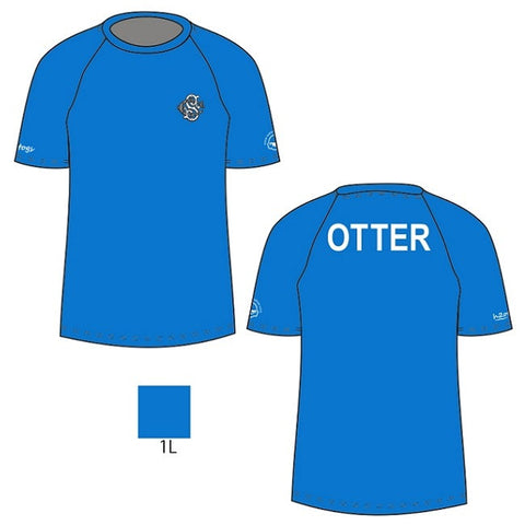 H2OTOGS Customised - Otter Unisex MESH T-Shirt