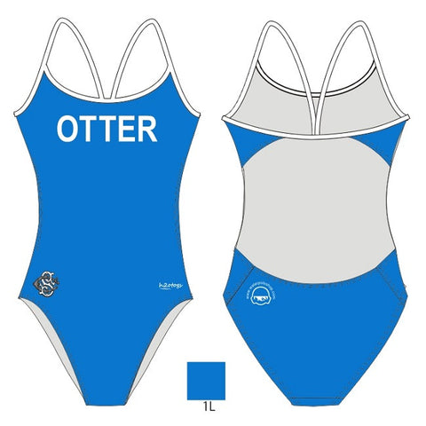 H2OTOGS Customised - Otter Womens Openback Swimsuit