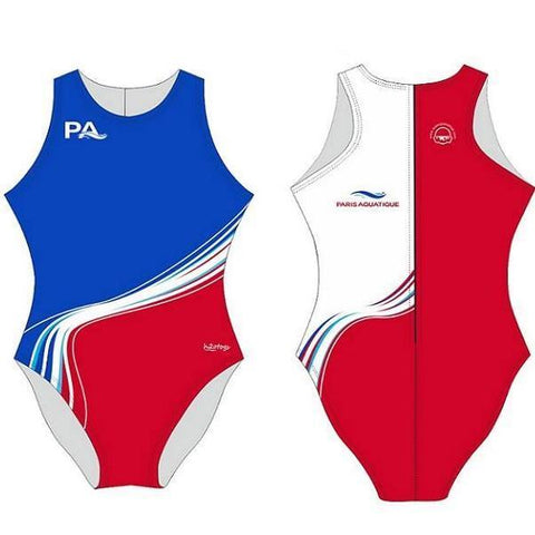 Waterpoloshop - H2OTOGS Customised - Paris-Aquatique Womens Water Polo Suits