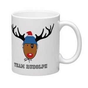 .IN_STK - H2OTOGS Christmas Mug - TEAM RUDOLPH