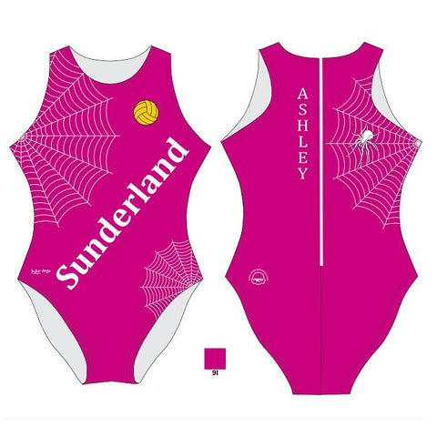 Waterpoloshop - H2OTOGS Customised - Sunderland Womens Water Polo Suits