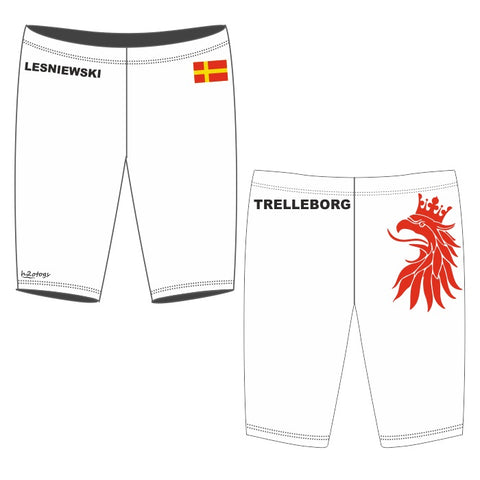 H2OTOGS Customised - Trelleborg UWR (WHITE) Mens Jammers + NAME