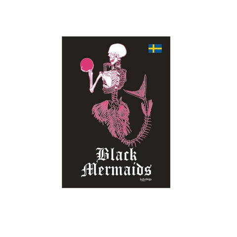 H2OTOGS Customised - Black Mermaids Gym Towel
