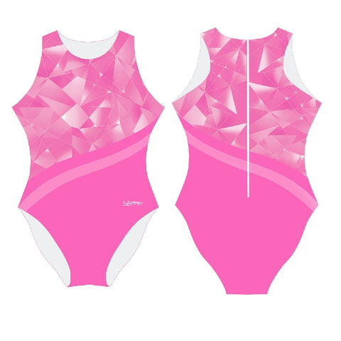 dda08c0a774ae IN STK - H2OTOGS Broken Glass - Womens Water Polo Suits   Costume .