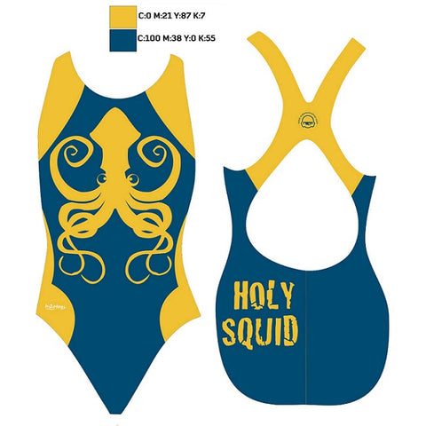 Waterpoloshop - SHOALO Customised - Orca Bilzen (SQUID) Womens Xback Suits