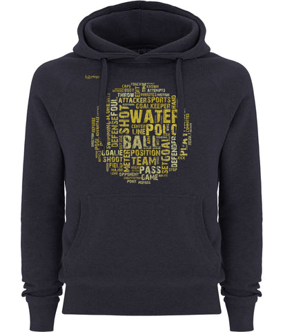H2OTOGS Word Cloud - Unisex Hoodie / Hoody - Front - Navy
