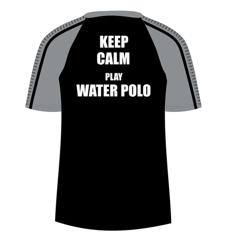 H2OTOGS Keep Calm - Unisex Water Polo - MESH / TEA BAG - Back