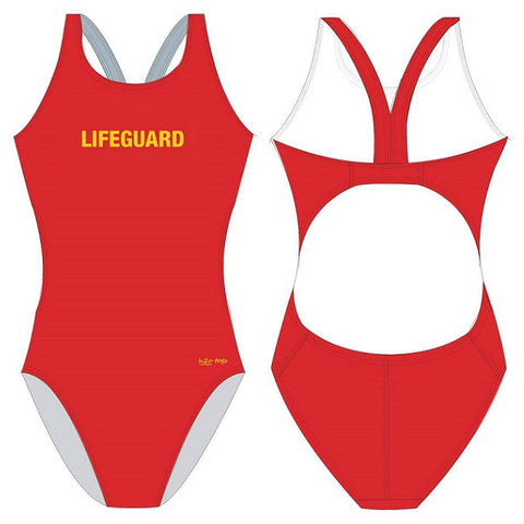 H2OTOGS Lifeguard - Womens Bladeback Suits
