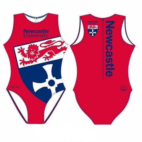 Waterpoloshop - SHOALO Customised - Newcastle Uni Womens Water Polo Suits