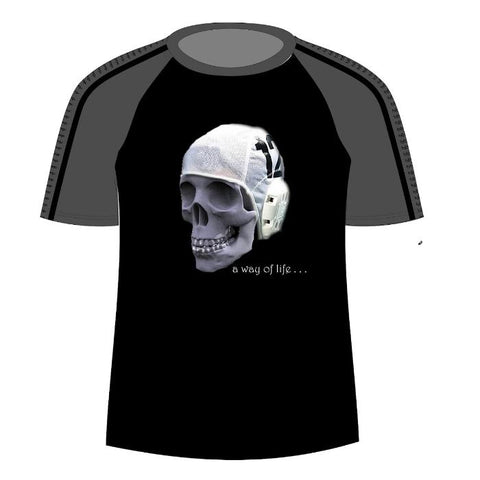 H2OTOGS Skull - Unisex Water Polo - MESH - Tshirt - Front