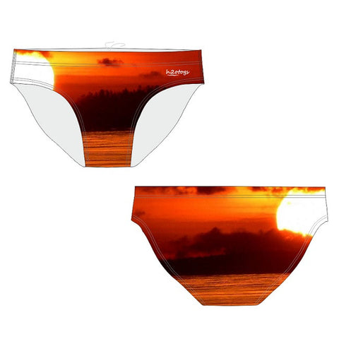 H2OTOGS Sunset - Mens Suit - Water Polo