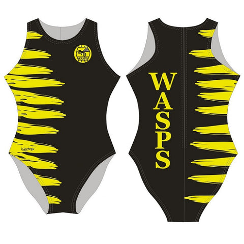 H2OTOGS Customised - Wasps (New Zealand) Womens Water Polo Suits