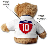 SHOALO Teddy Bear PERSONALISED - I Love Water Polo