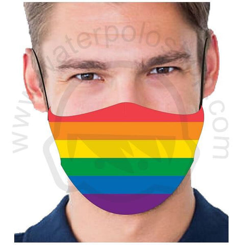 .IN_STK - Face Mask - Reuseable / Washable Fabric With Filter Pocket (0) - Rainbow