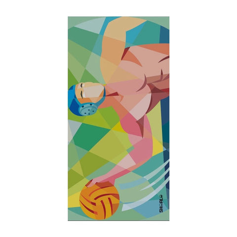 .IN_STK - SHOALO Water Polo Player Beach Towel