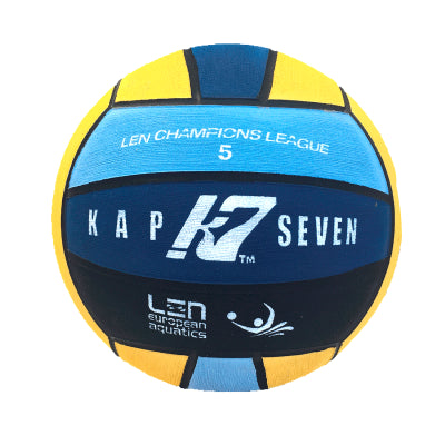 KAP 7 - LEN CHAMPIONS LEAGUE Mens Water Polo Ball - Size 5 - Multicoloured