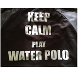 H2OTOGS Keep Calm - Unisex Water Polo - MESH - Tshirt - Back