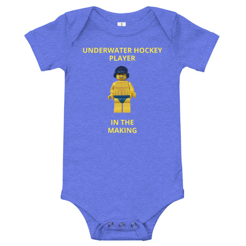 SHOALO - Toy (boy - underwater hockey) Baby Grow - VARIOUS COLOURS