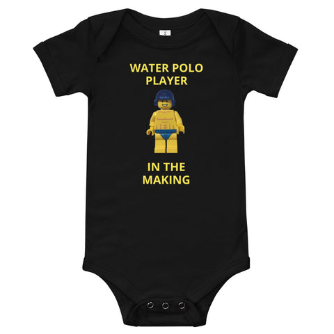 SHOALO - Toy (boy - water polo) Baby Grow - VARIOUS COLOURS