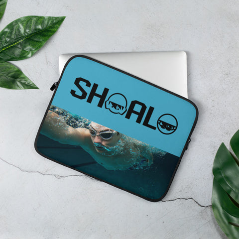 SHOALO - Underwater Swimmer - Laptop / Tech Sleeve