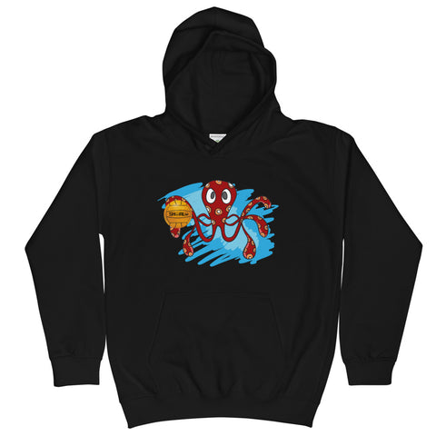 SHOALO - Octopus - Kids Hoodie - Various Colours