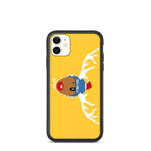 SHOALO - Rudolf - Biodegradable iPhone Case - Yellow - Various Models