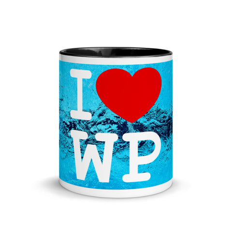 SHOALO - I Love WP - Mug with Colour Inside - VARIOUS COLOURS