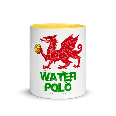 SHOALO - Welsh  Dragon - Mug with Colour Inside - Various Colours