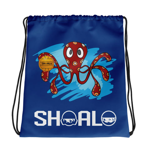 SHOALO - Octopus - Drawstring bag - Royal Blue