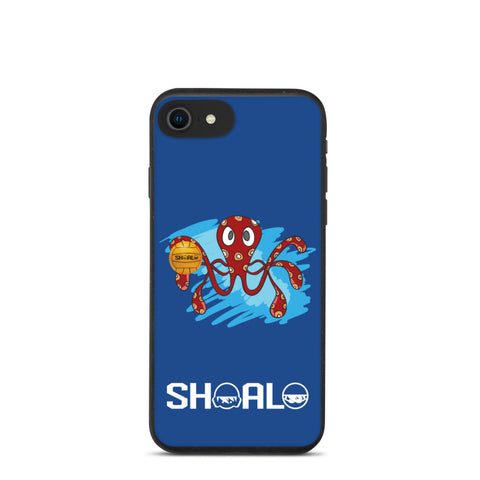 SHOALO - Octopush - Biodegradable iPhone Case - Blue - Various Models