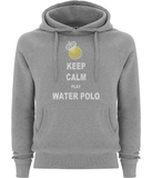 H2OTOGS Keep Calm and Play WP - Unisex Hoodie / Hoody - Front - Grey