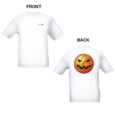 Waterpoloshop - GREY H2OTOGS Water Polo T-Shirt - Ball Pumpkin