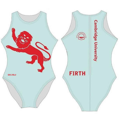 .IN_STK - SHOALO Customised - Cambridge Uni (Water Polo) Womens Water Polo Suits