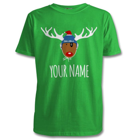 SHOALO Rudolph's Little Helper - PERSONALISED Children's T-Shirt / Tee