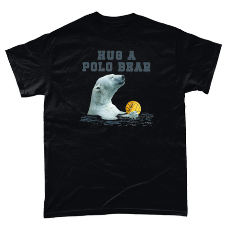 SHOALO Hug A Polo Bear - T-Shirt / Tee - VARIOUS COLOURS