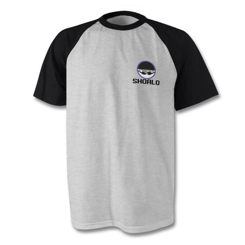 SHOALO Swimming Logo Water Polo - Baseball Style Men's T-Shirt / Tee