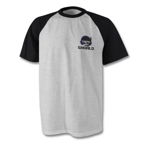 SHOALO UWH / UWR Logo Water Polo - Baseball Style Men's T-Shirt / Tee
