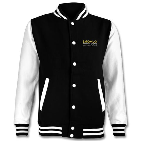 SHOALO Water Polo Ball - Premium Embroidered Varsity Jacket - Front