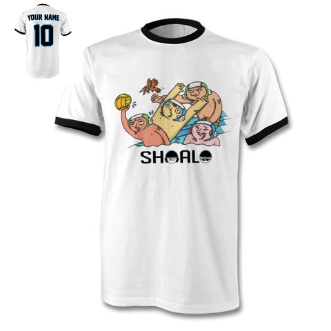 SHOALO WP Fun - PERSONALISED Ringer Men's T-Shirt / Tee