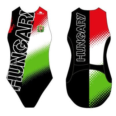 TURBO Hungary Escudo Tecno Black - 893599 - Womens Water Polo Suits / Costume